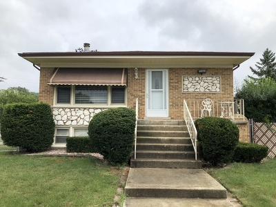 Oak Lawn Single Family Home New: 10001 Marion Avenue