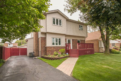Oak Lawn Single Family Home New: 9233 Sproat Avenue