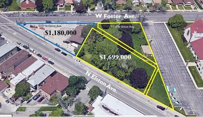 Chicago Residential Lots & Land For Sale: 5137 North Elston Avenue