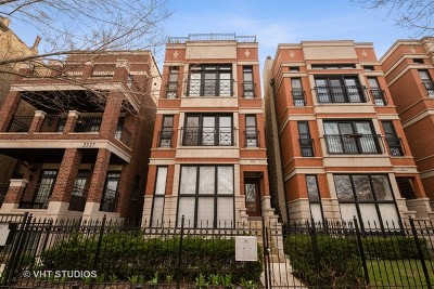 Lakeview Condo/Townhouse New: 3333 North Seminary Avenue #3