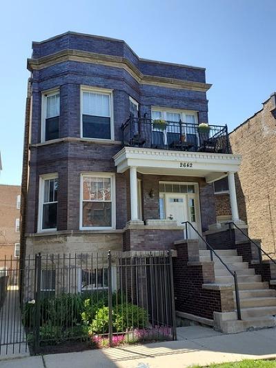 Condo/Townhouse New: 2642 North Talman Avenue #2B