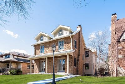 Chicago Single Family Home New: 5846 North Kilbourn Avenue