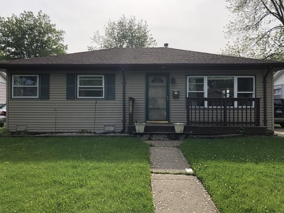 Oak Lawn Single Family Home New: 8932 South 51st Avenue