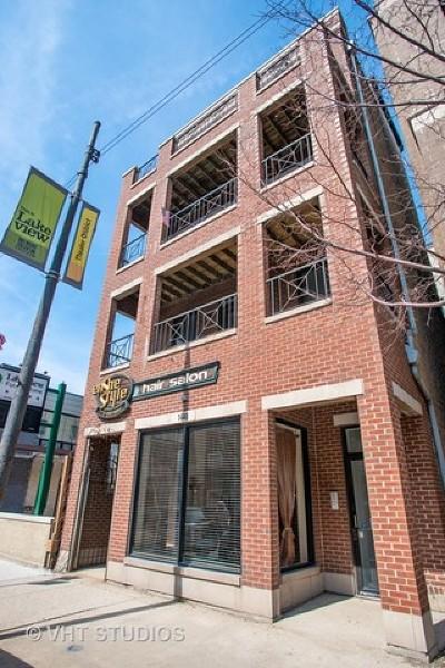 Chicago Condo/Townhouse New: 1448 West Belmont Avenue #3