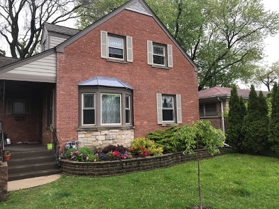 Skokie Single Family Home New: 8640 Kimball Avenue