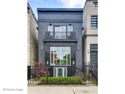 Chicago Single Family Home New: 1856 North Howe Street