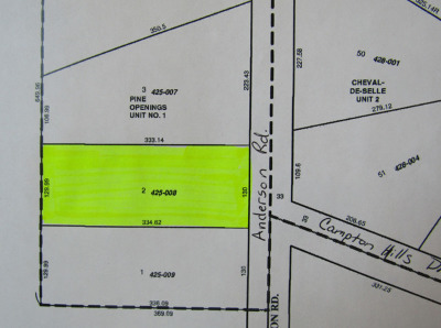 Elburn Residential Lots & Land For Sale: Lot 2 Anderson Road