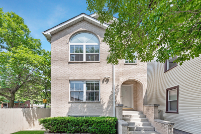 Chicago Single Family Home New: 2954 West Lyndale Street