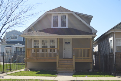 Chicago Single Family Home New: 2210 North Nagle Avenue