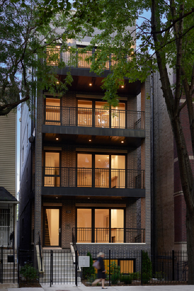 Condo/Townhouse New: 1529 North Hudson Avenue #2