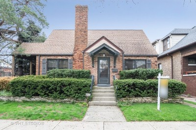 Chicago Single Family Home New: 6348 West Hyacinth Street