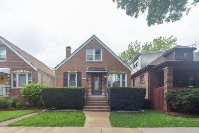 Chicago Single Family Home New: 5850 West Waveland Avenue