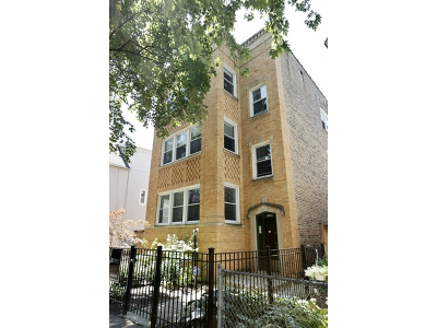 Chicago Multi Family Home New: 3854 North Janssen Avenue