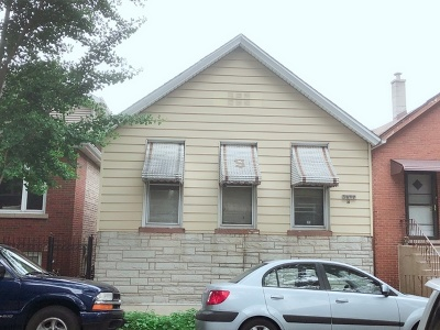 Chicago Single Family Home New: 3017 South Quinn Street