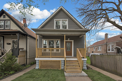 Chicago Single Family Home New: 7746 South Drexel Avenue