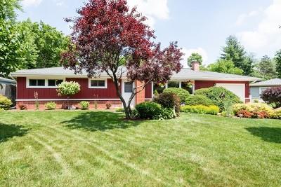 Wheaton Single Family Home For Sale: 319 Brookside Circle