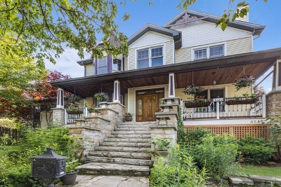 Chicago Single Family Home New: 4545 West Berteau Avenue