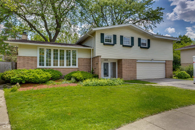 Wilmette Single Family Home For Sale: 2935 Hartzell Street