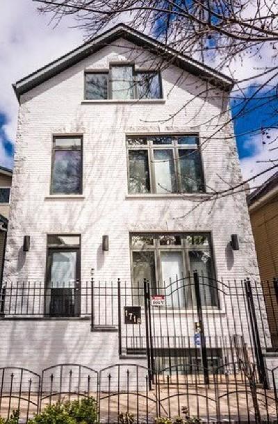 Chicago Single Family Home New: 1718 West Altgeld Street