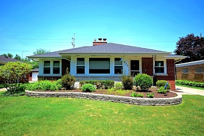Elmhurst Single Family Home Price Change: 437 East Webster Avenue