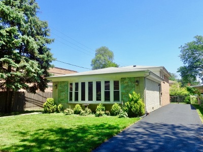 Evanston IL Single Family Home New: $435,000