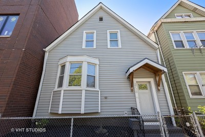 Single Family Home For Sale: 3726 North Ashland Avenue