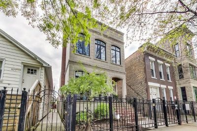 Single Family Home For Sale: 1627 West Huron Street