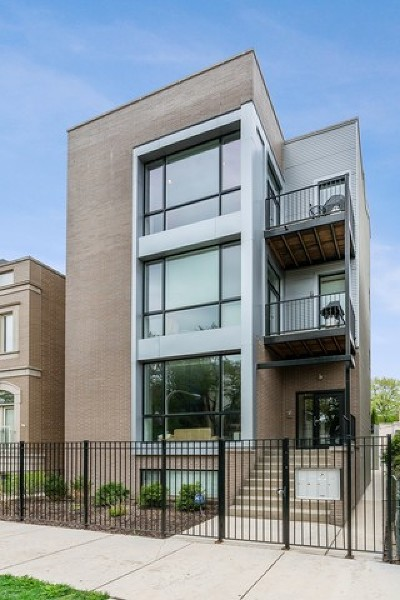 Wicker Park, Bucktown Condo/Townhouse New: 2343 West Lyndale Street #3