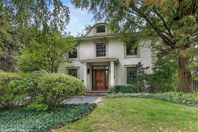 Single Family Home For Sale: 2007 Wilmette Avenue