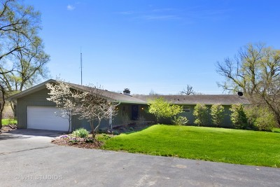 Mc Henry County Single Family Home For Sale: 3213 East Solon Road