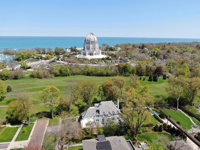 Wilmette Single Family Home Price Change: 211 Greenleaf Avenue