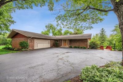 Crystal Lake Single Family Home Price Change: 4604 Oak Crest Road