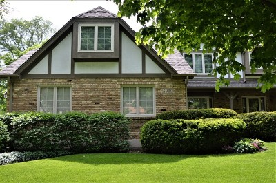 Downers Grove Single Family Home Price Change: 5930 Hillcrest Court
