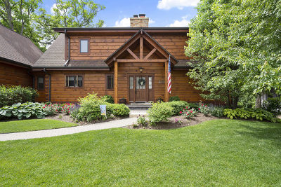 Grayslake Single Family Home For Sale: 33678 North Lake Shore Drive