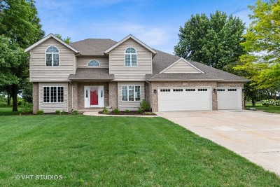 Minooka, Channahon Single Family Home For Sale: 25616 Northcrest Drive