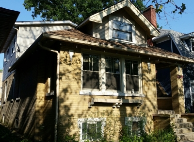 Single Family Home For Sale: 5417 North Bernard Street