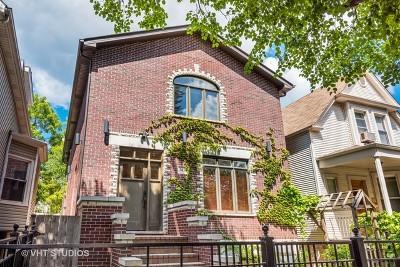 Single Family Home For Sale: 2436 West Winnemac Avenue