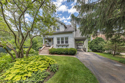 Downers Grove Single Family Home For Sale: 4539 Oakwood Avenue
