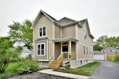 Des Plaines Single Family Home Price Change: 1936 Ash Street