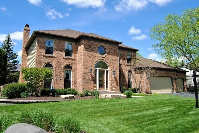 Naperville Single Family Home Price Change: 2797 Wedgewood Drive