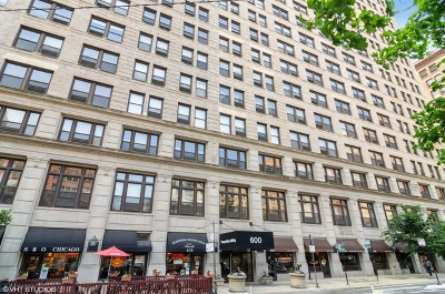 Condo/Townhouse For Sale: 600 South Dearborn Street #1402