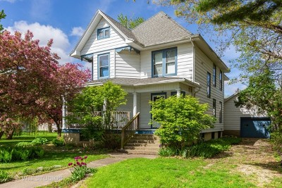 Gardner Single Family Home For Sale: 307 North Monroe Street