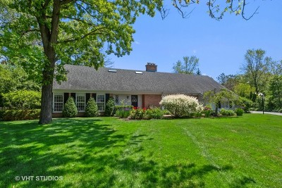 Lake Forest Single Family Home For Sale: 585 Meadowood Drive