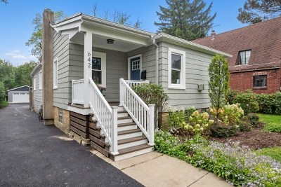Highland Park Single Family Home Price Change: 642 Lincoln Avenue West