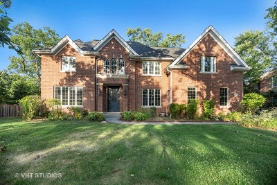 Winnetka, Wilmette, Evanston, Skokie, Northfield, Highland Park, Glenview, Glencoe, Kenilworth, Niles, Morton Grove, Lincolnwood, Lincolnshire, Bannockburn Single Family Home New: 1617 Meadow Lane