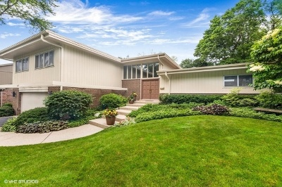 Highland Park Single Family Home For Sale: 877 Thackeray Drive