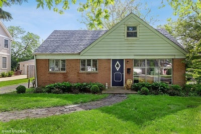 Hinsdale Single Family Home Price Change: 811 Justina Street