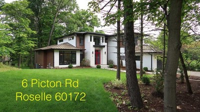 Roselle Single Family Home For Sale: 6 Picton Road