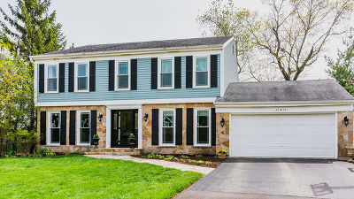 Wheaton Single Family Home For Sale: 25w731 White Birch Lane