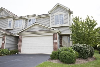 Cary Condo/Townhouse For Sale: 1396 Prairie View Parkway